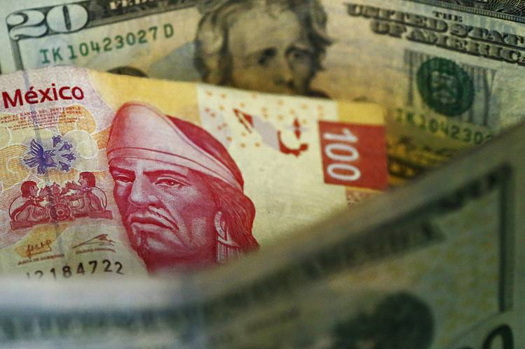 American Dollar Is Firm And Mexican Peso Reached Its Lows