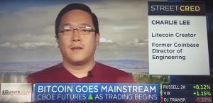 Charlie Lee Litecoin LTC
