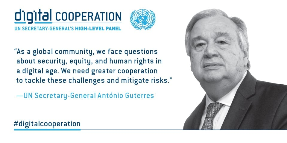 digital cooperation social media lge - The United Nations Investigates How Blockchain Can Impact Global Economics