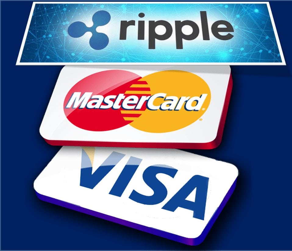 mastercard and visa icon - MasterCard And Visa Could Use Ripple's Technology For Increased Scalability