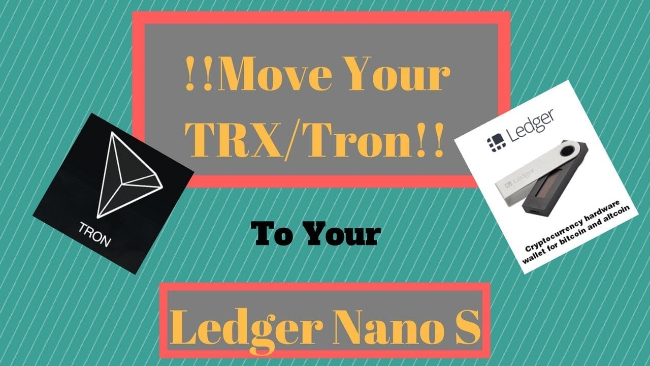 You Can Store Your Tron Trx On Ledger Nano S From Now Oracle Hardware Wallet Bitcoin