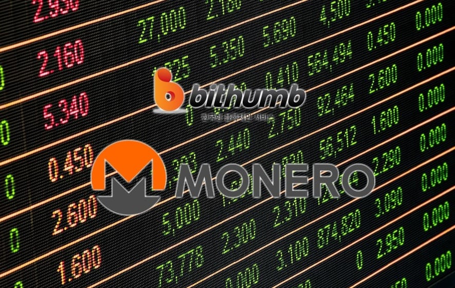 Bithumb Monero XMR - Monero (XMR) Deposits And Withdrawals Resumed On Bithumb Cryptocurrency Exchange