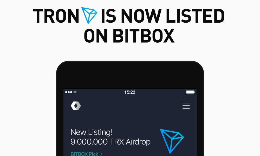Final BITBOX lists TRON - Line Corporation, Japan's Biggest Chat App, Adds Tron (TRX) To Its Crypto Exchange Platform Bitbox