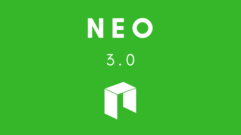 neo 3 0 - NEO (NEO) Founder Comes Up With New Roadmap To Boost The Future Of Smart Contracts