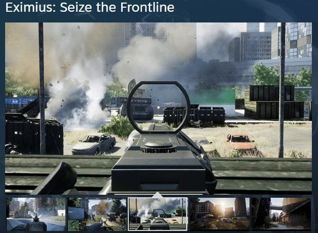 FireShot Capture 158 Eximius  Seize the Frontline on Steam  https   store.steampowered.com app - Award Winner Gaming Startup TriForce Tokens Is Gearing Up For Its Final Token Offering, Eliminating Gaming Industry's Shortcomings