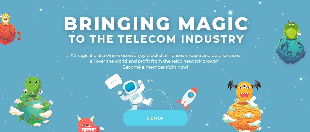 FireShot Capture 169 Bringing magic to the telecom industry https   miracletele.com  - A New Era In Communication: Miracle Tele Reveals TELE Token Sale To Provide The Lowest Mobile Call Rates