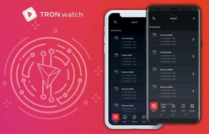 Tron Network TronWatch Market - Tron (TRX) Will Launch New Products and Tronwatch Market Token Sales