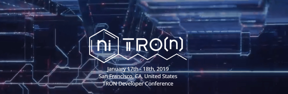 FireShot Capture 201 niTROn https   www.trondevcon.io  - Tron (TRX) Will Host A Two-Day Developer Conference In San Francisco In January 2019
