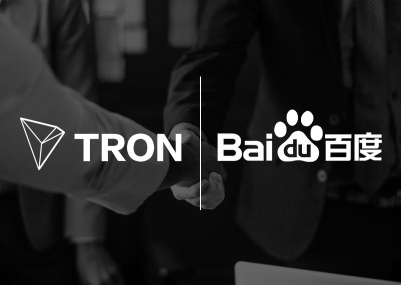 Tron TRX comes together as partner with Baidu – China's IT Giant - Tron's Rumored Billion Dollar Partnership With China's IT Giant Baidu Could Pave The Way For TRX Adoption In 2019