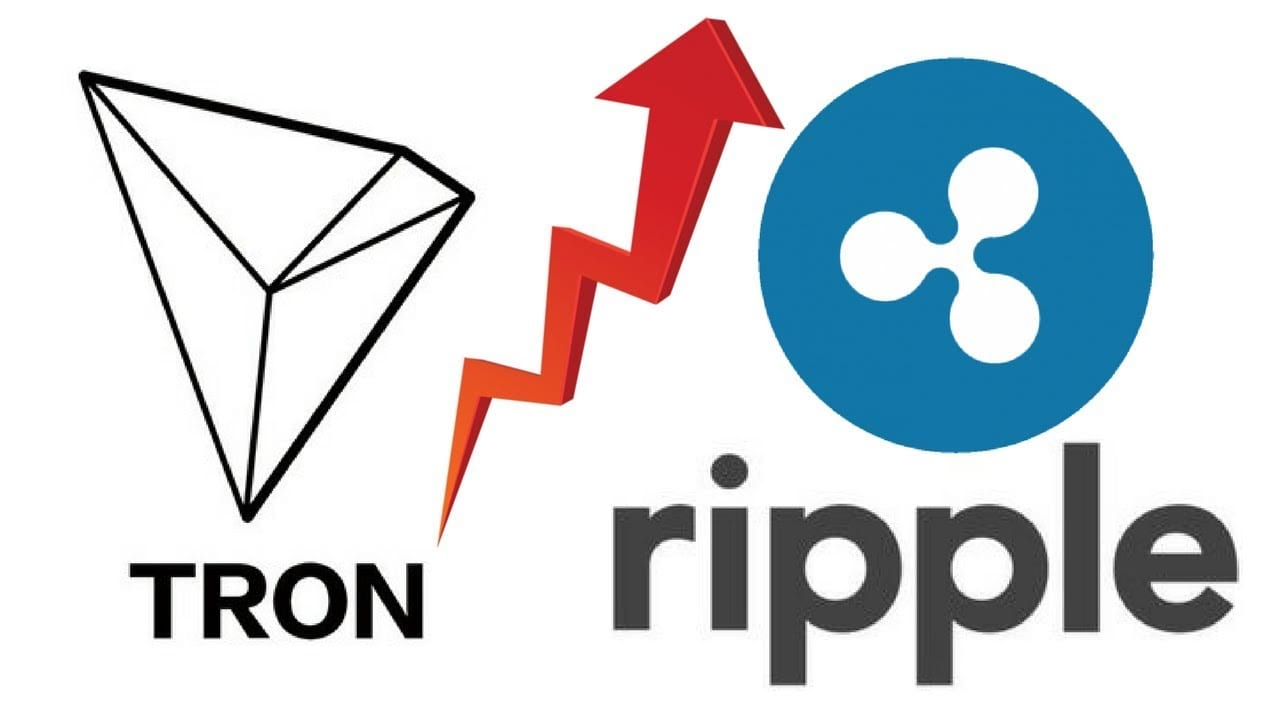 Tron and Ripple - The new wave Of Digital Freedom is coming from Two Coins:  Ripple's XRP and Tron (TRX)