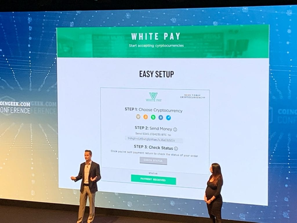 2 1 1024x768 - The White Company Reveals Game-Changing Announcements For Real World Crypto Usage At CoinGeek Week Conference In London