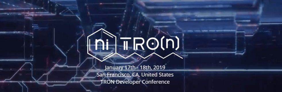 FireShot Capture 201 niTROn https   www.trondevcon.io  - Tron Dapp Weekly Report Is Out And Shows That More Developers Use Tron's Technology