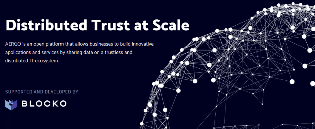 FireShot Capture 3 AERGO Distributed Trust at Scale https   www.aergo .io  1024x419 - AERGO Raised $30 Million To Develop An Open Source Blockchain Platform And Deliver Its Disruptive Vision