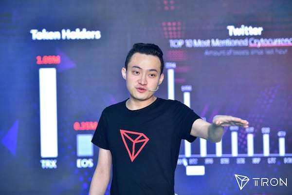 trons founder justin sun foresees a great future for tron trx will surpass ethereum - How Tron (TRX) Is Fighting Ethereum (ETH)