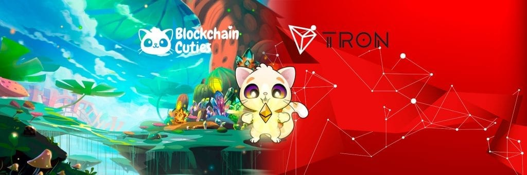 1 rN6CG7ORco0w5gFr1RD WQ 1024x341 - Decentralized Crypto Collectible Game, Blockchain Cuties, Implements Tron Protocol