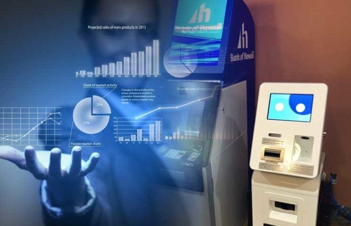 Coinradar Bitcoin ATM Data Shows Despite Falling Prices Crypto ATMs Power Up Over 4000 Locations 696x449 - Crypto Adoption In 2018: Six New Crypto ATM Machines Have Been Installed On A Daily Basis This Year, The Latest Data Shows
