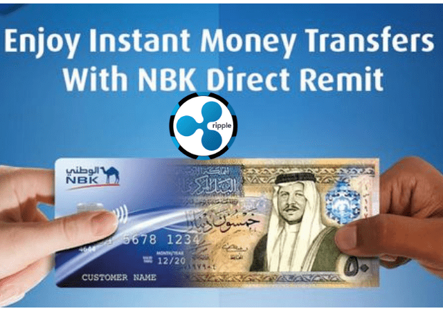 First Bank In Kuwait Launches Ripple (XRP) Reliant NBK Direct Remit