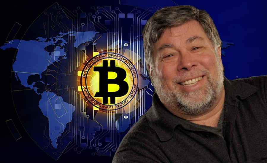 """BitcoinApple.original - Apple's Co-Founder Steve Wozniak Who Believes That Bitcoin Is """"Digital Gold"""" Sold All BTC When It Peaked At $20k In 2017"""