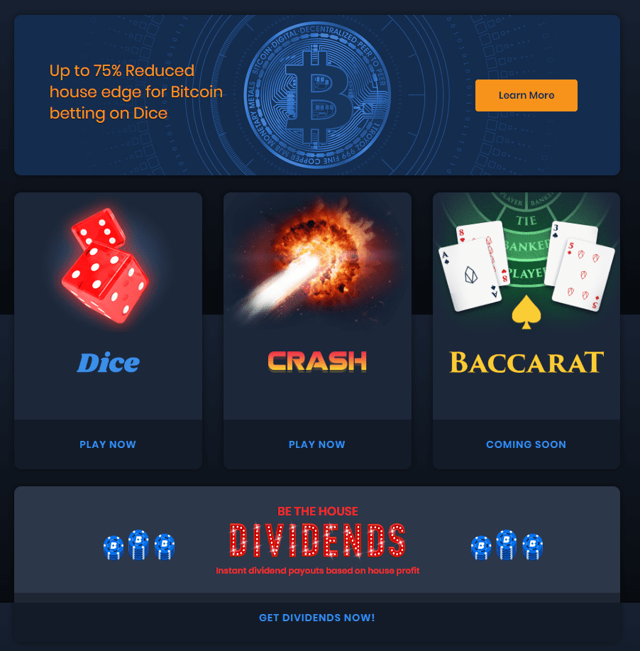 FireShot Capture 68 EOSBet Casino https   eosbet.io  - EOSBet Launches A Decentralized Account System & Bitcoin Betting To Support Mainstream Adoption