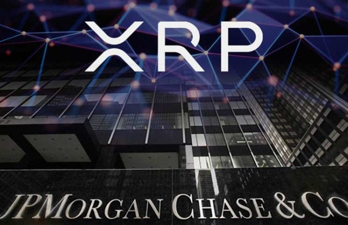 """Ripple Could Be Affected by JP Morgans Intention to Launch a Digital Asset for Financial Transactions 696x449 - JP Morgan's Experimental Crypto Is Reportedly A Game Changer For Digital Assets And """"A Huge Slap In The Face Of Ripple"""""""