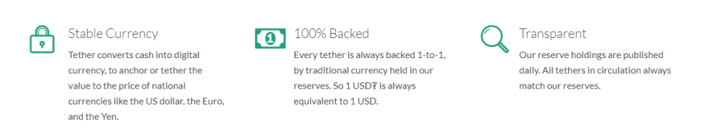 2 1 1024x198 - Tether Triggers Doubts About Being 100% Backed By The US Dollar, Following The Latest Update On Its Website
