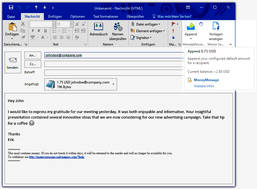 D13fxAsWwAQoRCo22 - Send XRP Via Email - Ripple's Digital Asset Reaches Microsoft Outlook