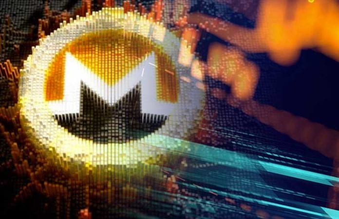 Moneros Block Reward Drops Under 3 XMR After Hard Fork 696x449 - Monero Enjoys Double-Digit Gains Following The Hashrate Fall – XMR Is Up 10% Over The Past 24H