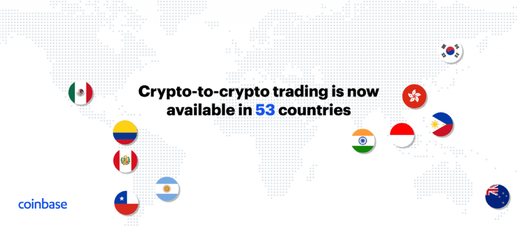 1 9TMqhs 0zdEEKJnfnfXc4A 1024x450 - From Investment To Utility: Coinbase Launches Crypto-To-Crypto Trading Services In 11 Countries