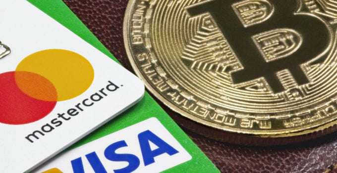 bitcoin visa master card cryptocurrency shutterstock 680x350 - Bitcoin (BTC) Vs. MasterCard, PayPal, And Visa: Comparing Payment Methods