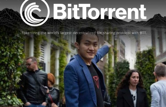 BitTorrent is Launching on Tron in Q2 a Partnership with a Tech Giant Coming announces Justin Sun 696x449 - Tron's Justin Sun Reveals BitTorrent File System - The Price Of TRX And BTT Skyrocket