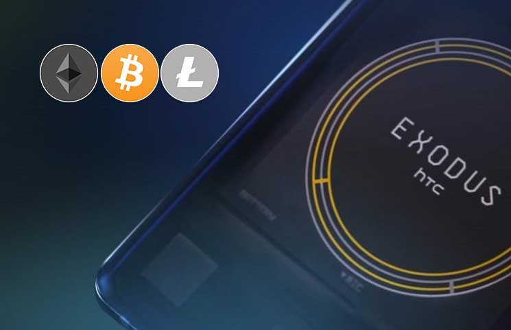 HTCs Exodus 1 Cryptocurrency Phone Can Be Purchased with Bitcoin Ether and Litecoin - HTC Allows Crypto Users To Store and Send BTC, ETH, And LTC – Eliminates The Need For A Third-Party Exchange To Swap Tokens