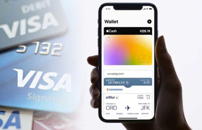 Spend com Announces Clients Will Be Able To Link Their Spend Visa Card to Apple Wallet 696x449 - Spend Wallet App Upgrade Allows Crypto Users To Pay In BTC, XRP, ETH, And LTC On Apple Pay