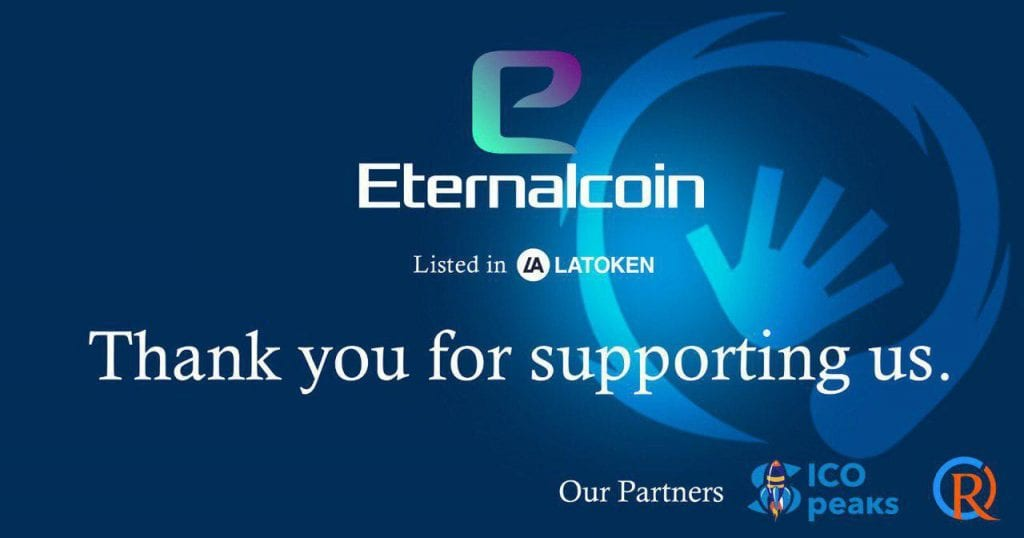 bitcoinprbuzz eternalcoin 1024x538 - Eternal Wars Gaming Platform Supports Decentralization - Eternalcoin's IEO On LATOKEN Exchange Begins Today