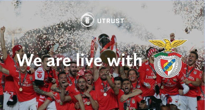 UTRUST Bitcoinprbuzz benfica - Crypto Adoption Intensifies: S.L. Benfica & UTRUST Team Up To Bring Digital Assets To Millions Of Football Supporters