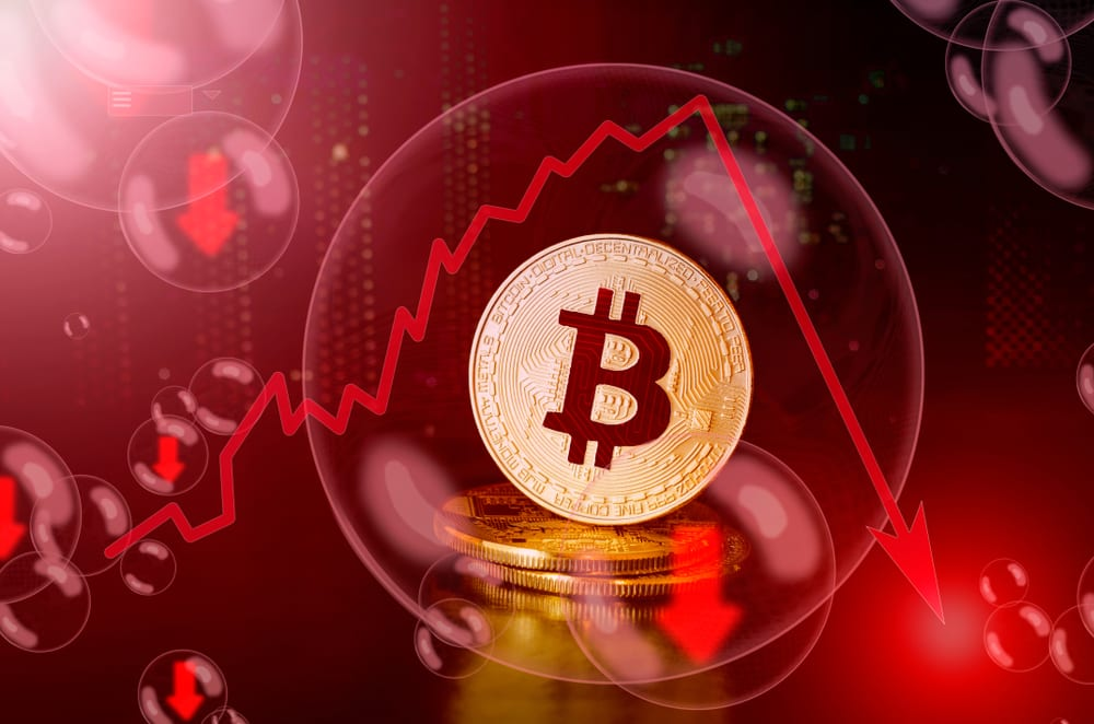 bitcoin price watch red - Bitcoin (BTC) Falls To $7,700 After Surpassing $9,000 – The Could Be The Pullback Predicted By Analysts