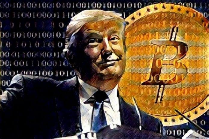 Donald Trump Bitcoin Final 696x461 - President Donald Trump Publicly Declares His Skepticism For Bitcoin (BTC) And Crypto – He Also Addresses Facebook's Libra