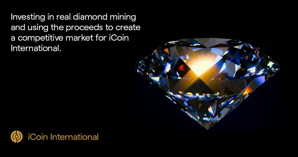 iCoin Press Release 1024x538 - iCoin Disrupts The Diamond Mining Industry Via Blockchain And AI - New IEO Revealed In Collaboration With LATOKEN