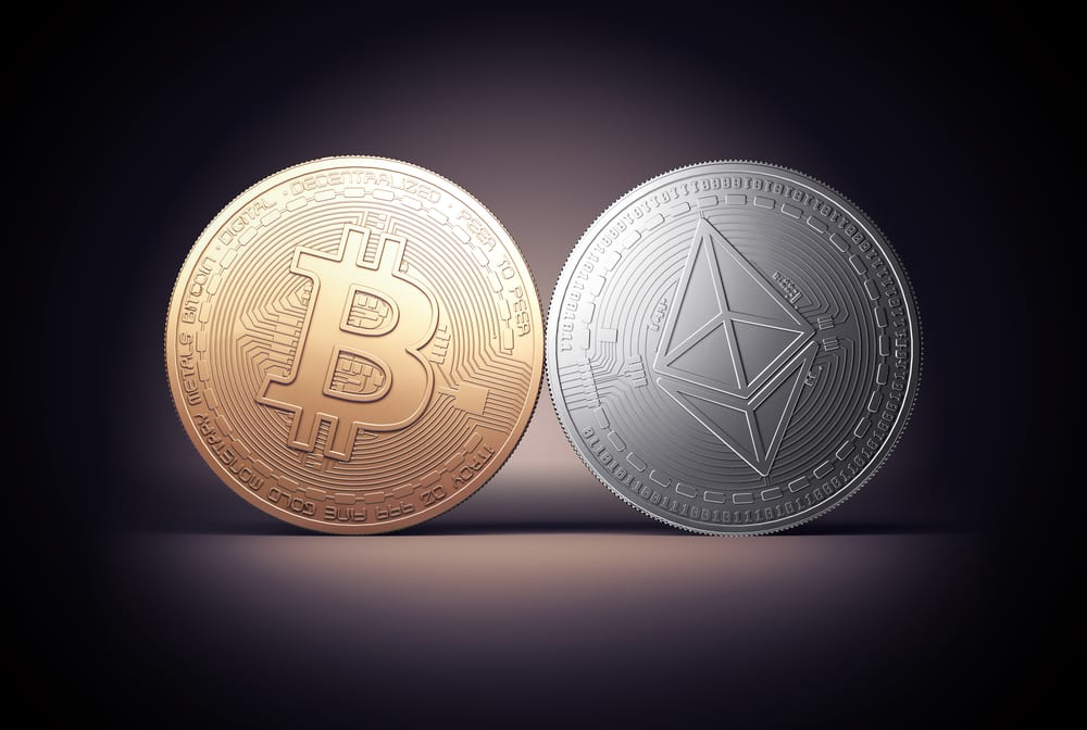 shutterstock 653153323 - Ethereum Dominance Dropped To 7.5% And Bitcoin's Hit 70%