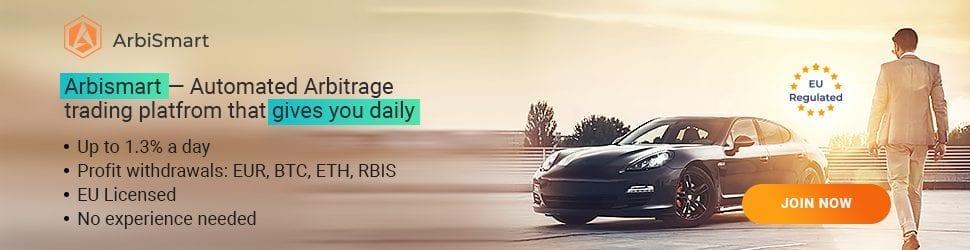 2 2 - ArbiSmart Arbitrage Platform Makes Crypto Investing And Profiting Easier Than Ever