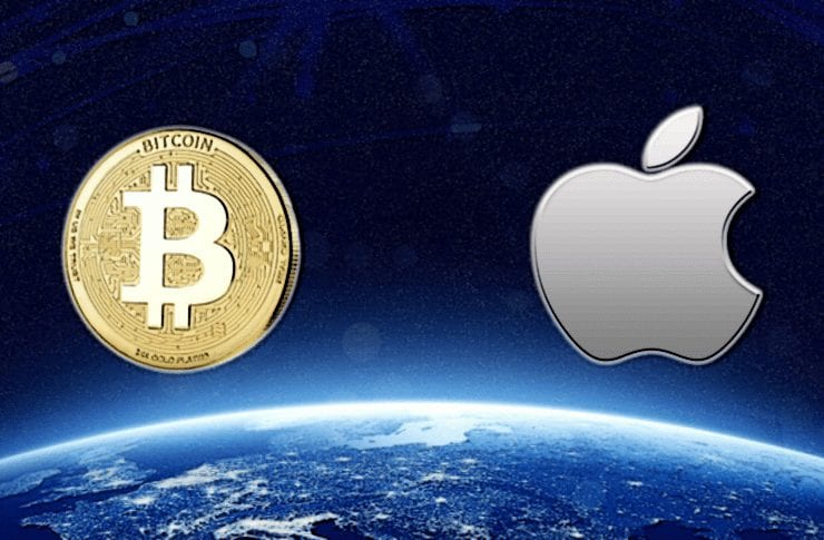 apple bitcoin 740x485 - Apple CEO Tim Cook Doesn't Support Digitial Assets