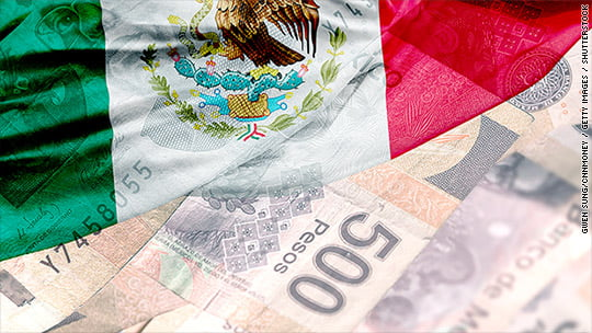 mexican flag pesos  - Ripple Success: Massive Growth Of Crypto-Powered Payments Revealed