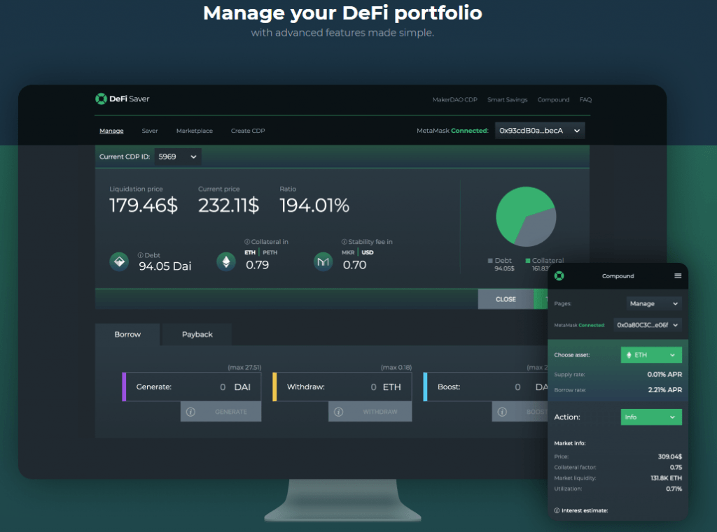 3 1024x761 - Financial Revolution: DeFi Saver Innovates Management Apps Industry