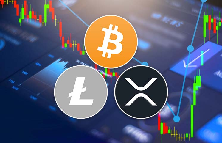 Bitcoin BTC Litecoin LTC and Ripple XRP Analysis - Bitcoin (BTC) To Rise Much Higher Than $100k; Litecoin (LTC) And XRP Are Giving Bullish Signals