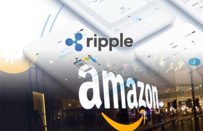 New Ripple and Amazon Crypto Rumors Kick up Digital Dust with XRP For Retail Payments Usage 696x449 1 - Ripple Aims To Follow Amazon's Path – XRP Vs. BTC In Terms Of Speed