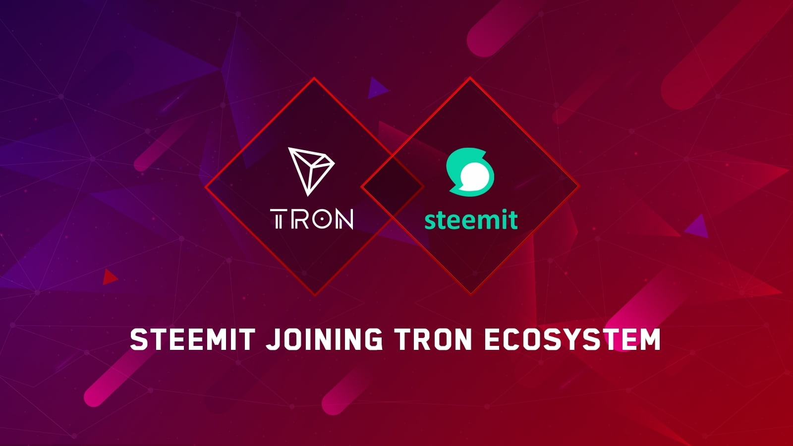 TRON x Steemit - Justin Sun Reveals New Tron And Steemit Partnership – Decentralized Social Networking