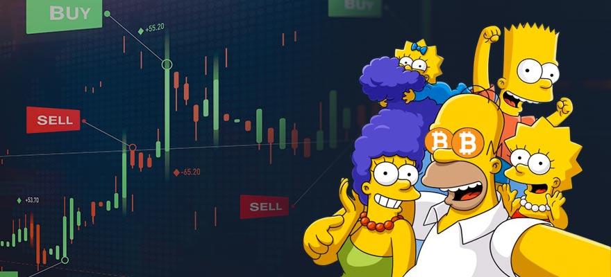 crypto sympsons - Crypto Gains Massive Exposure Via The Simpsons