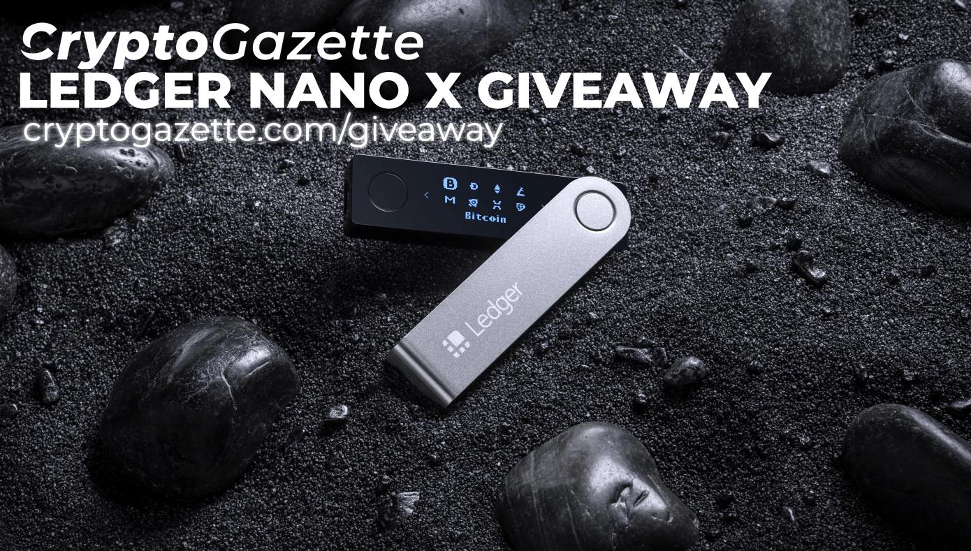 Ledger Nano X Giveaway