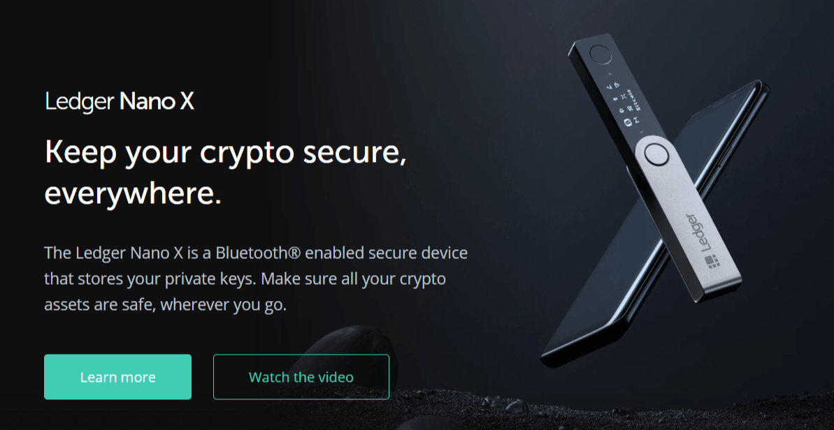 FireShot Capture 012 Ledger Nano X Secure your crypto Ledger shop.ledger.com  - Win a FREE Ledger Nano X