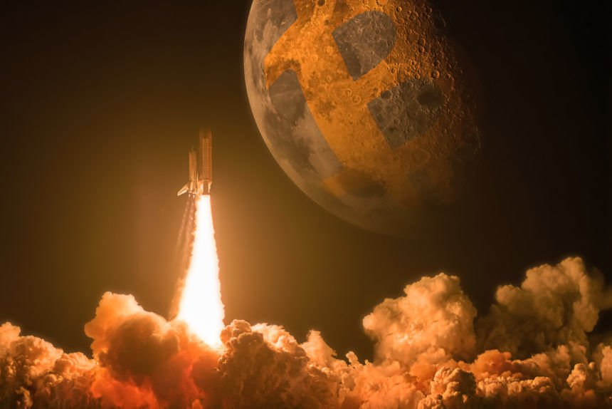 Space Holds The Key to The Bitcoin BTC Moon Mission Flipping Gold - Post Bitcoin Halving Prediction: BTC To Hit $300k