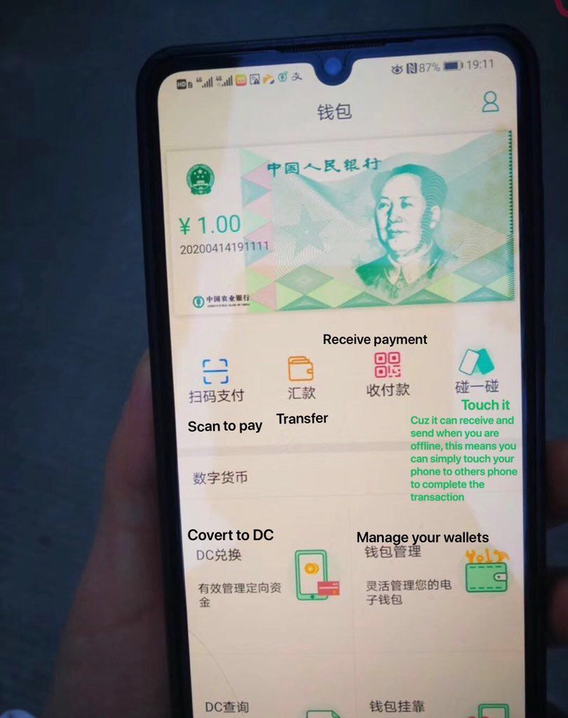 central bank digital currency test - China Tests A Mobile App For Digital Currency
